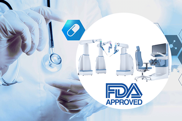 Medical device company Asensus Surgical FDA approval